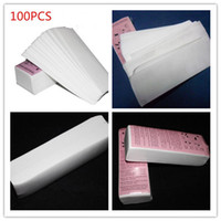 Wholesale Nonwoven Waxing Strips - New Arrival 100 pcs pack Professional Hair Removal Tool Depilatory Paper Nonwoven Epilator Women Wax Strip Paper Roll Waxing Smooth Legs