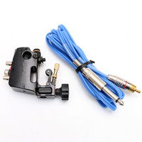 Wholesale Hyper Stigma Tattoo - Rotary Tattoo Machine Gun Stigma Hyper V3 with Silicone RCA Clip Cord Supply For Beginners & Artists