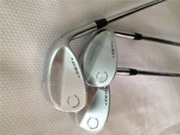 Wholesale Cg17 Wedge - 7 Wedges Silver 7 Golf Wedge Golf Clubs 52 56 60 Degrees Steel Shaft With Head Cover