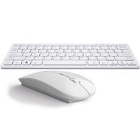 Wholesale Android Office - Ultra-thin Mute Notebook External 2.4G Mini Wireless Keyboard Mouse Set Office Home TV Keyboard or Mouse Key For Apple IOS Android Windows