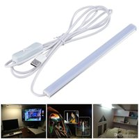 Wholesale Plastic Work Tables - SMD 2835 5V LED Strip USB LED Desk Table Lamp Light for Bedside Book Reading Study Office Work Children Night Light led tubes