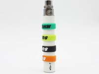 Wholesale Ego Cigarette Batteries Decorative - Ecig Anti-slip eGo Band Silicone Vape Bands Rubber Beauty Ring for EVOD eGo Series Battery Decorative and Protection E Cigarette eGo C Twist