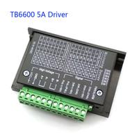 motor kontrolörü sürücüsü toptan satış-TB6600 0.2-5A CNC denetleyici, step motor sürücü nema 17,23, tb6600 Tek eksenli İki Fazlı Hibrid step motor için cnc