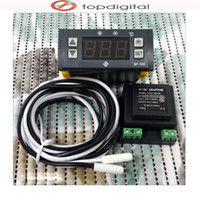 Wholesale Electronic Regulator - Wholesale-SF-104 Original Intelligent Mini Digital Display Temperature Controller Electronic Temperature Regulator, Thermostat
