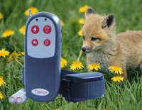 Dog Trainer Wasserdichte wiederaufladbare Remote Anti-Rinde Haustier Hundetraining Kragen 4 IN 1 Electric Shock Kleine Medium Dog Control