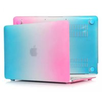 Wholesale A1466 Case - Hard Case Protector With Rainbow Style For Macbook Air 11.6 13.3 inch A1465 A1370 A1369 A1466