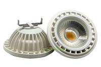 Wholesale Led Bulb Mm - AR111 LED Bulb Lamp G53 GU10 COB LED Spotlight Ceiling Down Light 111x65 mm LED Lighting Indoor Lights A Type 36pcs