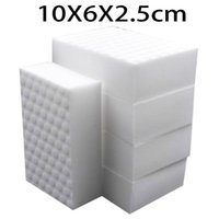Kitchen sponge suppliers - 10 cm High quality double compressed kitchen cleaning melamine sponge magic eraser cleaning accessory supplier for dish washing
