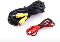 Wholesale 2017 New Hot Sale M RCA Video Cable For Car Rear View Backup Camera Bus Truck Caravan V V