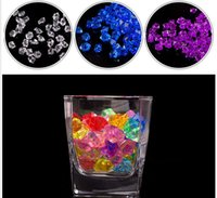 Wholesale Wholesale Vase Scatters - 25*18 MM Wedding Favor Party Acrylic Crystal Rock Ice Confetti Table Scatter Vase Filler Beads high quality