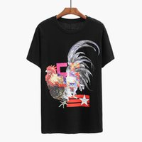 Wholesale Cock Big - 2018 Summer New Europe the United States UK Brand G Men Women Cotton T Shirt Big Cock Printing Short Sleeve Tee Shirts