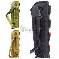 Wholesale Stone Color Dresses - Survival Gear Tactical Pouches Molle Pouches Short Barrel Shotgun Scabbard Bag ,Outdoor Camping Portable Shoulder Sling Holster Bag