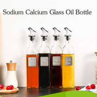 Wholesale New Glass ml Soy Sauce Vinegar Wine Glass Bottle Leakproof Bottles of Sesame Oil Sauce Seasoning bottle Vinegar Bottle Kitchen Supplies