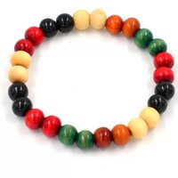 Wholesale 8 mm beads bracelet bracelets Mens Bracelet beads imitation ebony men gifts Radiation protection