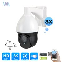 Wholesale Dome Ip Camera Outdoor 3x - MINI 1080P Network IP 3x 2.8-8mm Zoom PTZ Video Dome Camera IR Night Vision Outdoor