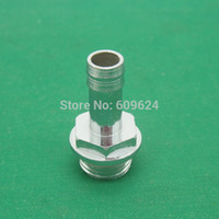 Wholesale Chromium Copper - Wholesale- 5pcs lot G1 4'' Pagoda Joint Copper plating chromium Nozzle Outer diameter 8.5mm for 6-8mm water cooling pipe tube