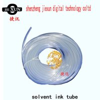 Wholesale Mutoh Printer Wholesale - size 3mm*2mm 1way ink supply tube solvent ink tube pipe for small damper DX4 printhead for Roland Mimaki Mutoh solvent printer