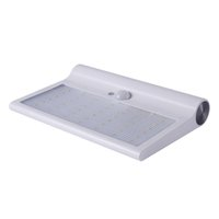 Wholesale Solar 4w - Solar led wall light 4W 3.7V 2200mAh durable for 8 hours with Intelligent PIR sensor for garden lighting CE ROHS Listed Free shipment