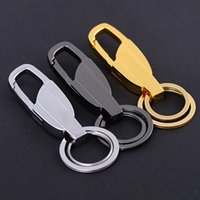 Wholesale Wholesale Fancy Keychain - Men'S Fashion Charming Car Key Chain Key Ring New Trendy Fancy Creative Metal Car Keyring Keychain Keyfob Gift C15L