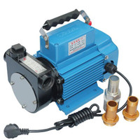 Wholesale Electric Oil Pressure - 220V Self-priming Diesel Transfer Pump 80L min Electric Oil Pump