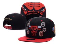 Wholesale Bulls Balls - Fashion Casual Adjustable Bulls Hat Unisex Hip Hop Snapback Chicago Basketball Baseball Caps for Men women