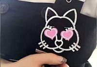 Wholesale Custom Crystal Pins - Europe and the United States custom galeries lafayette animals cats diamond brooch plated platinum diamond brooches