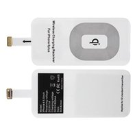 Wholesale Thin Qi Charger - Wireless Charger Ultra Thin Universal Qi Wireless Charger Receiver For Samsung iPhone 6 6s 5 5s Xiaomi Huawei meizu HTC