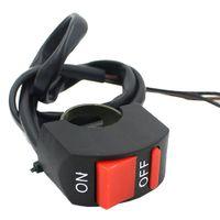 мотоцикл руль руль освещенный переключатель оптовых-Handlebar мотоцикл авария опасность двойной вспышки света кнопка включения/выключения