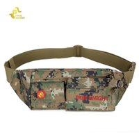 Wholesale Wholesale Ripstop Nylon - Wholesale- Free Knight Water resistant and ripstop Bag FK808 Outdoor Unisex Running Fanny Pack Zip Bag Bum Waist Pouch Running Bag 4 colors