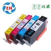 Wholesale Ink Cartridge 364xl - ZH 4 PCS Ink Cartridges 364XL Compatible For HP364 Photosmart B210 C53244 C5380 C63244 C6380 D5460 Photosmart e-Station C510a
