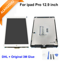 Wholesale Original LCD for ipad Pro LCD Display Digitizer with Touch Screen Assembly Black White for ipad pro DHL