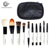 Wholesale Mini Travel Makeup Brushes - Sy Professional Mini Size Makeup Brush Set For Cosmetic Beauty Tools Portable Travel Brushes