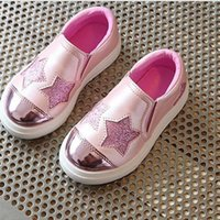 Wholesale Shoes For Girls Years - Children shoes Girls 2017 Kids shoes for 4-12 year rubber sole flat shoes for girls kids shoe for girls