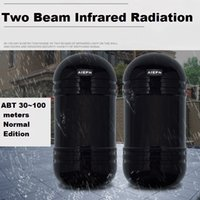 Wholesale Dual Beam Detector - Newest Photoelectric Dual Beam Perimeter Fence Active Infrared IR Sensor Barrier Detector Transmitter Receiver ABT-60 80 100