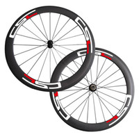 Wholesale Road Bike Wheel Sticker - 700C New 60mm Clincher carbon wheels for road bike use wheelset with CSC Sticker Bicycle Wheel