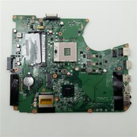 Wholesale laptop motherboards satellite - DA0BLBMB6F0 A000080670 For Toshiba Satellite L755 L750 Laptop Motherboard with Integrated Video Card Tested