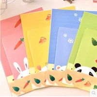 Vente en gros - 9pcs / set Cartoon Collection Animaux Enveloppes Four Design Avec Lettre 6 Pcs Letter + 3 Pcs Écriture Set de papier