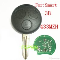 Tasto remoto Keyless Entry Fob 3 pulsante per MERCEDES BENZ MB Smart Fortwo 433MHZ