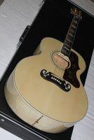 Wholesale G Custom Ebony - 2011 G 200 CUSTOM Artist Ebony fingerboard Acoustic Guitar in stock HOT