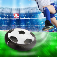 Wholesale pro discs - Wholesale- Amazing Play like a pro Montessori Child Toys Soccer Disc Multi-surface Hovering Gliding football sports Toys For Kids Indoor