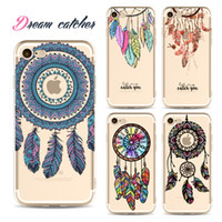 couverture iphone 5s dream catcher achat en gros de-Étui TPU peint Harry Potter Dream Catcher pour iPhone 5 / 5s / 6 / 6s 7 4.7 '/ 6 / 6s 7Plus 5.5' Couverture Fundas