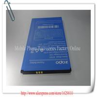 Wholesale Wholesale Zopo - Wholesale- (5pcs lot) zopo smartphone Accessories parts 2700mAh Battery Batery BT55T For ZOPO 999 ZP999 3X ZP3X