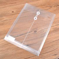 Wholesale Brands Deli - Deli brand 5511 file folder A4 white doucumet bag plastic file bags for office and school supplies