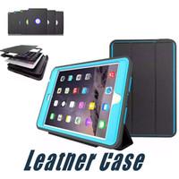 Wholesale ipad mini case light - For iPad Mini 4 3 2 1 Leather Case Protective Cover PU+TPU+PC For iPad 2 3 4 Air2 iPad Pro 9.7 10.5 12.5