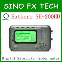 USB spectrum meter - free ship sathero sh hd USB2 DVB S S2 HD Spectrum analyzer Digital Satellite Finder Sathero SH200HD Digital Meter