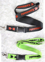 Wholesale Motorcycle Wholesale Lanyard - Wholesale 10 pcs Popular motorcycle logo Mobile phone Lanyard Removable Key Chains Badge Pendant Party Gift Favors C-060