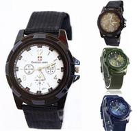 relógios de luxo suíço exército venda por atacado-Relógios de natal de Luxo Analógico SWISS Gemius ARMY nova moda MODELO ESPORTAL MILITAR ESTILO de RELÓGIO de RELÓGIO para HOMEM assistir DHL LIVRE