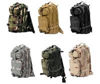 sacos de acampamento de nylon venda por atacado-30L Desporto Ao Ar Livre Militar Tático Mochila Molle Mochilas Camping Trekking Saco mochilas