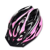 Wholesale Helmet Mountain Bike - 18 Holes Bicycle Helmet EPS Foam and PC Shell Ultralight MTB Mountain Road Bike Cycling Helmet Safety Breathable Riding Helmets