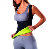 Wholesale Spandex Vest For Women - Modeling Strap Waist Trainer Corsets for Sweat Vest Neoprene Top Body Shaper Slimming Belt Belly Sheath Shapewear Strap Sauna suit